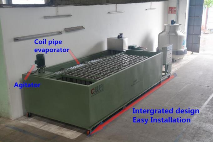 3 Ton Customized Ice Block Making Machine With Germany Bitzer Compressor