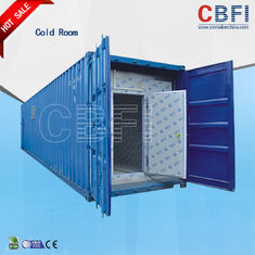 চীন Color Steel Panels Sliding Door Container Cold Room -18 - -25 For Fish And Meat কারখানা