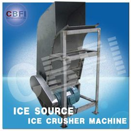 চীন Water Proof Crushed Ice Maker Machine / Industrial Ice Crusher Machine Energy Saving  কারখানা