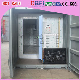 চীন Stainless Steel Panels Container Cold Room American Copeland Scroll Compressor কারখানা