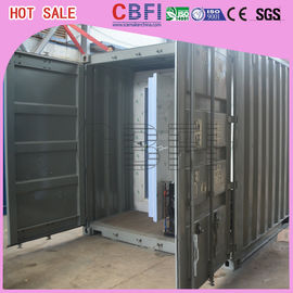 চীন Movable / Strong Cold Storage Containers Outside Cold Room Without Shed কারখানা