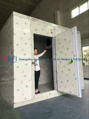 CE 2 Ton 4 Hrs Commercial Blast Freezer Unit For Chicken Processing Room