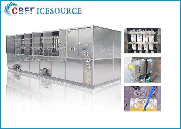 CBFI 20 Tons Large Ice Cube Machine Commercial With Semi Automatic Packing System সরবরাহকারী